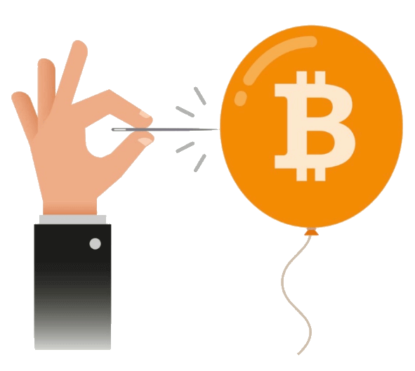 Eclatement de la bulle Bitcoin